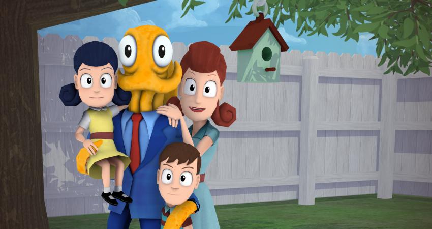 Chobotnice a rodinka