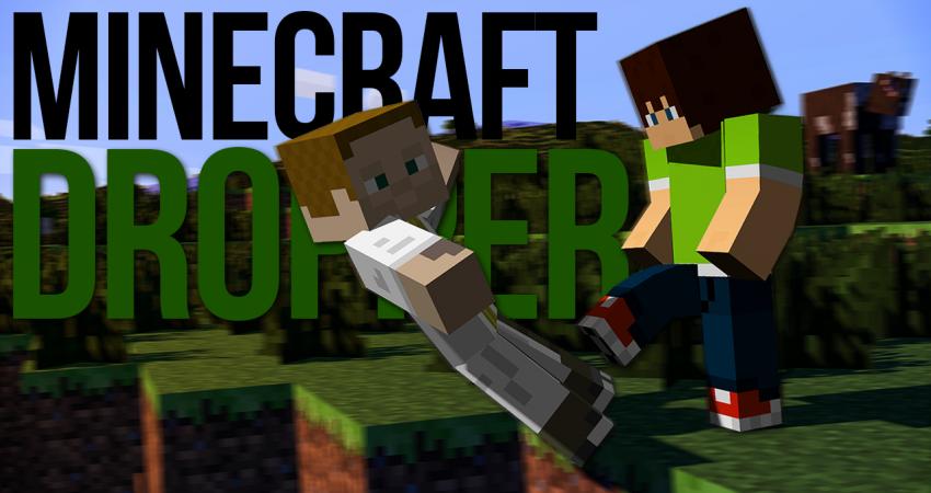 Padá Gejmr, něco si přej: Minecraft Dropper v podání MenTa a Gejmra